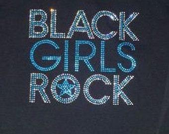 Black Girls Rock Blue T-Shirt