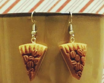 Pecan Pie earrings