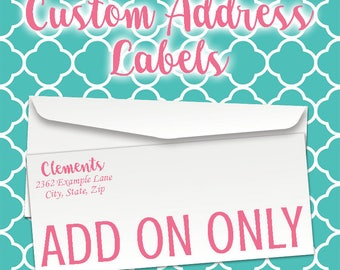 Address Label Add On