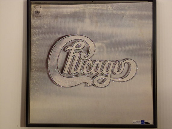 Glittered Record Album - Chicago