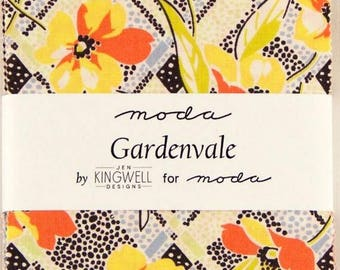 "Gardenvale Jen Kingwell for Moda Charm Pack Cotton Fabric Squares 5""x 5"""