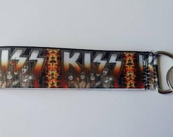 Key strap ♥ ♥ group KISS rock heavy metal ♥ ♥