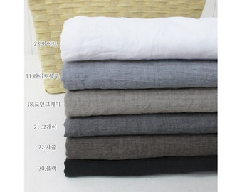 "Soft Cotton Gauze - White, Light Blue, Modern Gray, Gray, Charcoal or Black - 59"" Wide - By the Yard 59896 - 98"