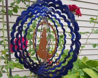 Wolf Garden Wind Spinner