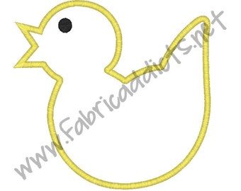 Chick Applique fits 5x7 Hoop for Embroidery Machine - Automatic Download Multiple Formats