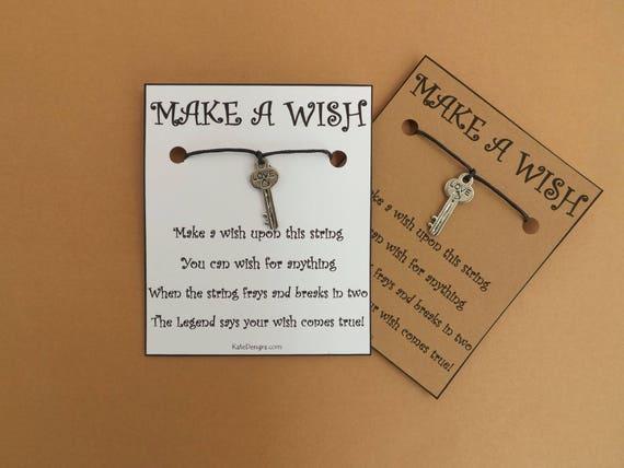 Key to the Door Wish Bracelet
