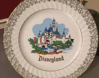 Disneyland Souvenir Plate