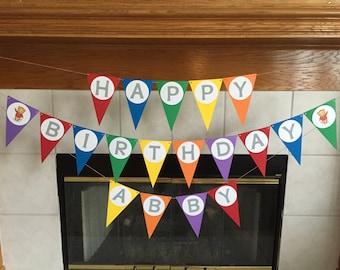 Daniel Tiger Birthday Party - Daniel Tiger Birthday Banner - Daniel Tiger Birthday Decorations