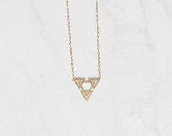Skylar Necklace Gold