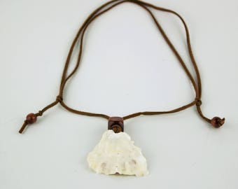 Oyster Shell Necklace, Oyster Shell Jewelry, Handmade Shell Jewelry,Handmade Shell Necklace, Beach Inspired Necklace, Beach Inspired Jewelry