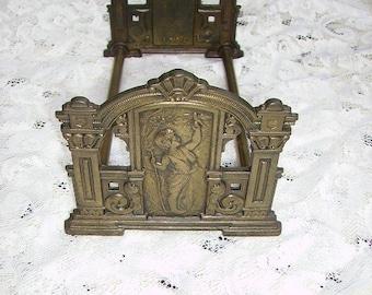 Early Art Nouveau Judd Sliding Expandable Bookends