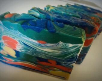 Starry Night( 5 - 6 oz) - Cold Process Soap