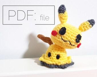 Crochet Mimikyu PATTERN (PDF)
