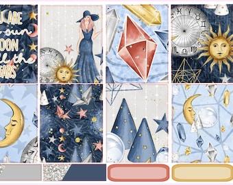 Sun & Moon- Erin Condren Full Sticker Kit