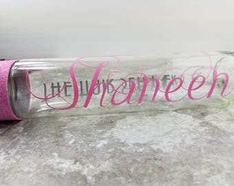 Personalized Glass Water Bottle Custom Made