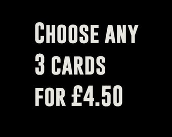 Choose any 3 Super Cool Cards and get a discounted price