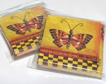 Note Cards with Envelopes (24) Blank Inside Butterflies Notecards Thank You