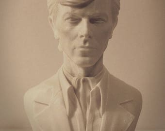 David Bowie Bust 3D print