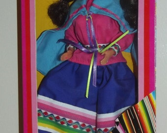 1985 Dolls of the World Peruvian Barbie Doll Mint in Box MIB