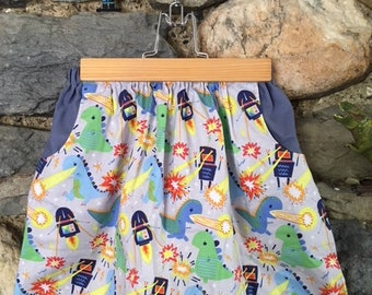 Robots Vs Monsters Skirt age 5-6