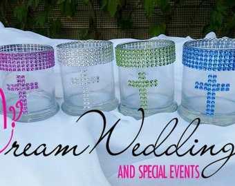 Christening Centerpiece Vases , Baptism Centerpiece ,  Baptism Reception