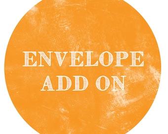 ENVELOPE Add-On - Paper Crush Stationery Envelope Addition