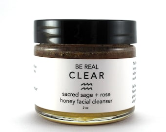 Sacred Sage + Rose Honey Facial Cleanser