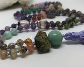 Mixed Gem Boho Mala Beads...