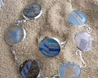 Bracelet/ ring/ earrings and more/ Delicate BEACH