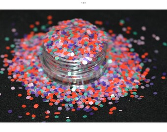 Cosmetic grade glitter for nail art, beauty and craft - dusky moments