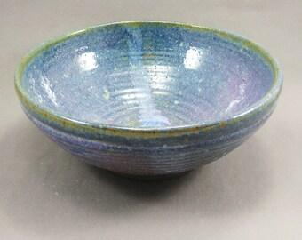 Pottery Large Bowl Rutile Blue CHUN20