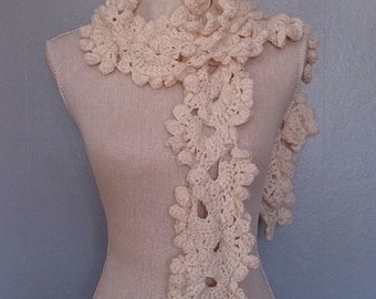 Beautiful vintage lotus flower scarf available in any colour