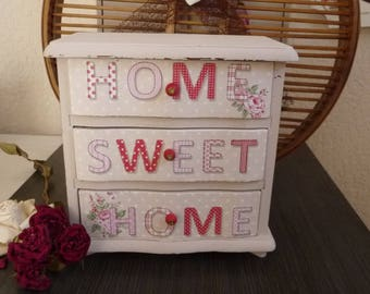 Small vintage furniture shabby style music 2