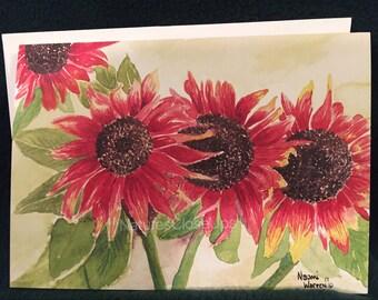 Original Fine Art Watercolor All Occassion Cards