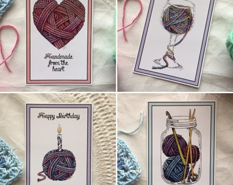 The Yarn Collection Postcard Set