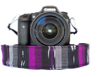 Bohemian Camera Strap Purple