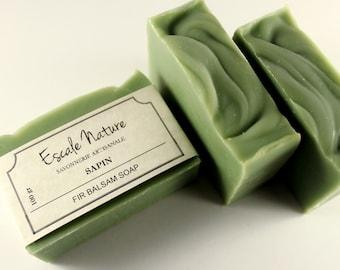 Fir Balsam soap, Artisan soap, Olive soap  shea butter, Handmade and natural