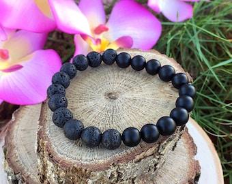 Balance Bracelet, Essential Oil Diffuser Bracelet, Yoga Jewelry, Meditation Bracelet, Aromatherapy Bracelet, Lava Rock Bracelet, Valentines