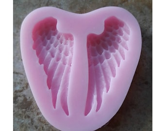 Silicone mold- Angels Wings