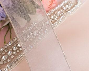 wedding belt, bridal belt,  thin wedding sash, bridal sash, wedding belt rhinestone, Swarovski wedding belt, thin jeweled belt