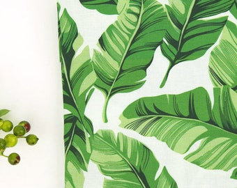 Green Leaves Cotton Fabric - By the Yard 101160