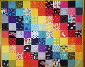 Two sided I spy quilt wit...