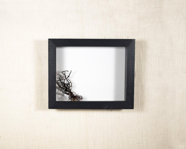 zoom - White Shadow Box Frame