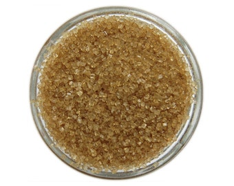 Gold Sanding Sugar - metallic gold sprinkles for decorating cupcakes, cakes, cakepops, and cookies