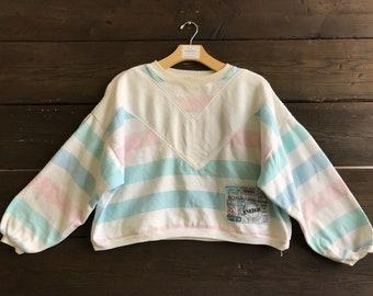 Vintage 90s Energie Crop Sweatshirt