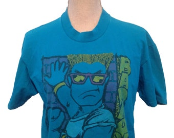 Vintage Bad Boys Cartoon 90s T-shirt