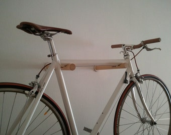 Twin - wall bicycle stand