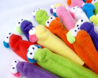 Finger Puppets Set of 4 - FREE US SHIPPING - Fuzzy Children's Toy