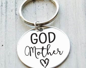Godmother Personalized Key Chain - Engraved