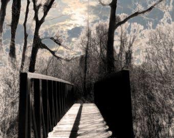 Forlorn Bridge Print